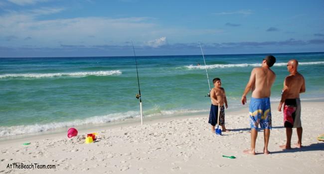 Talking Fish At The Beach