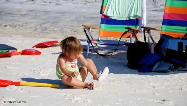 Little Kids Like the Beach