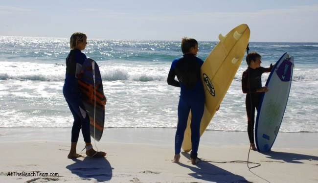 Surfer Dudes Waiting Their Turn.  Click on picture to see more pictures