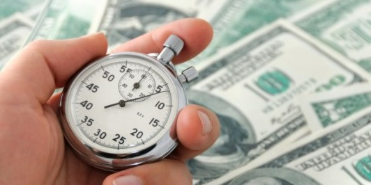 Money and Stop Watch